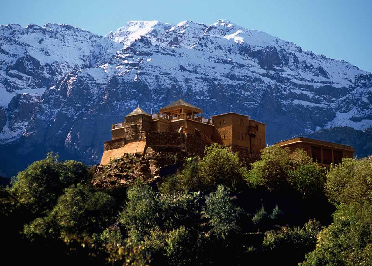 Kasbah du Toubkal Imlil Tal Marokko, Foto: ©Alan Keohane
