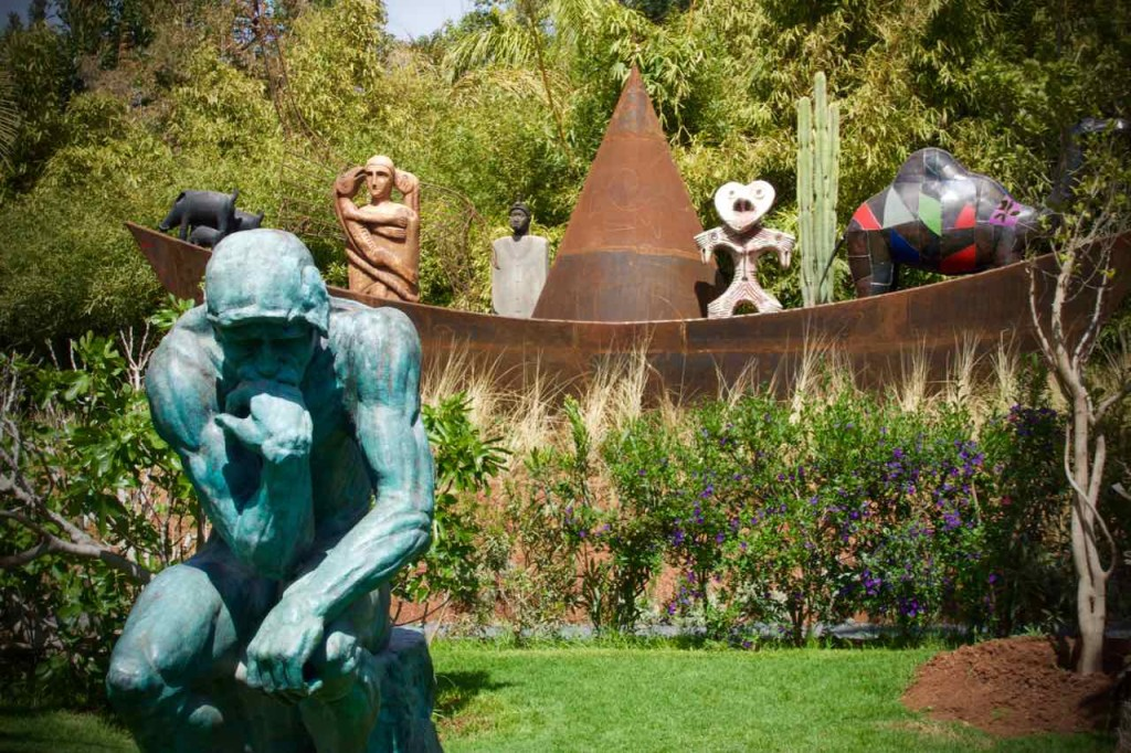 Marrakesch Anima Garten von André Heller, Denker mit Arche