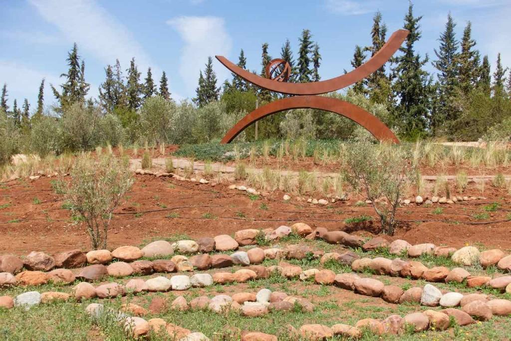 Marrakesch Sehenswürdigkeiten Anima Garten von Andre Heller, Außenskulptur, Marokko