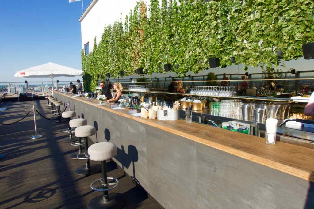 Berlin Rooftop-Bars, House of Weekend, Bar