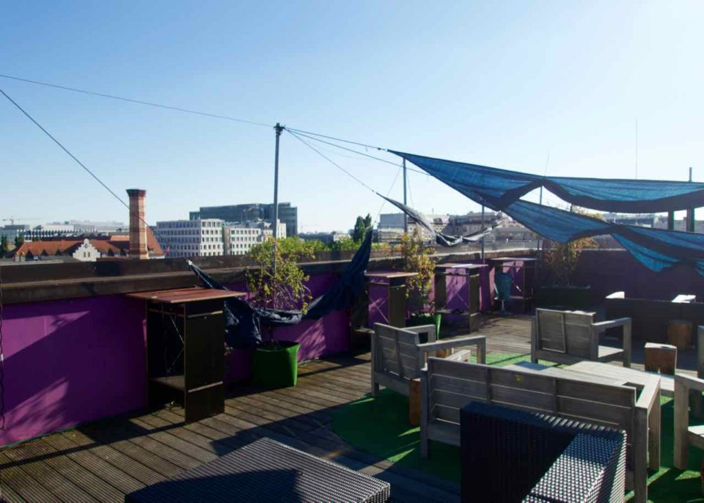 Berlin Rooftop-Bars,: baxpax Hostel Hotel