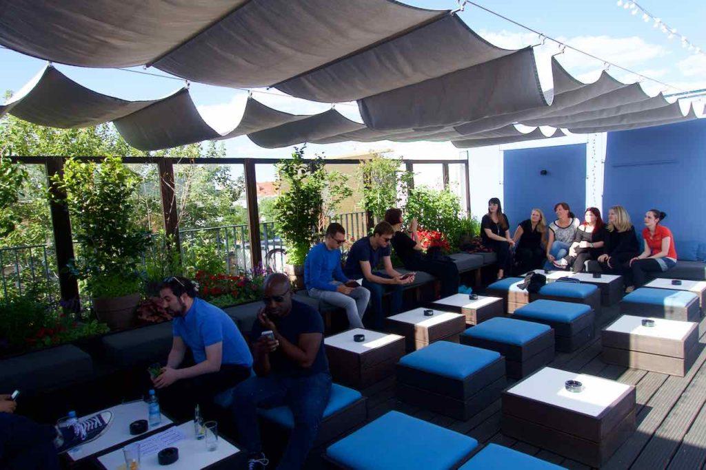 Dachterrasse + Rooftop-Bar Amano Berlin