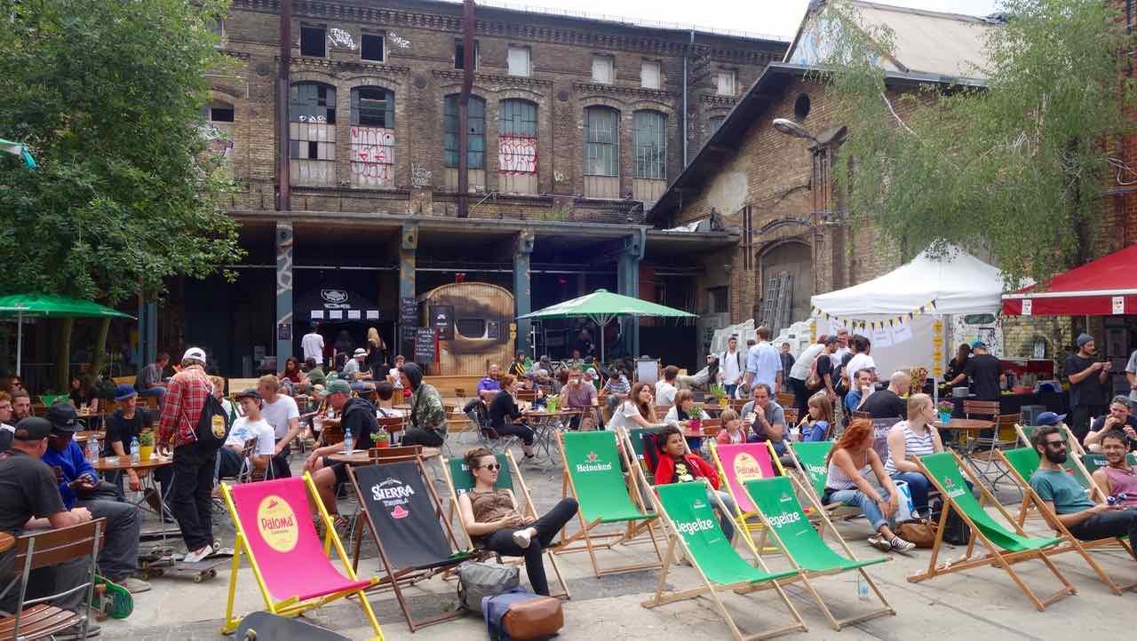 Das RAW-Gelände: Hot-Spot in Berlin Friedrichshain PETERSTRAVEL