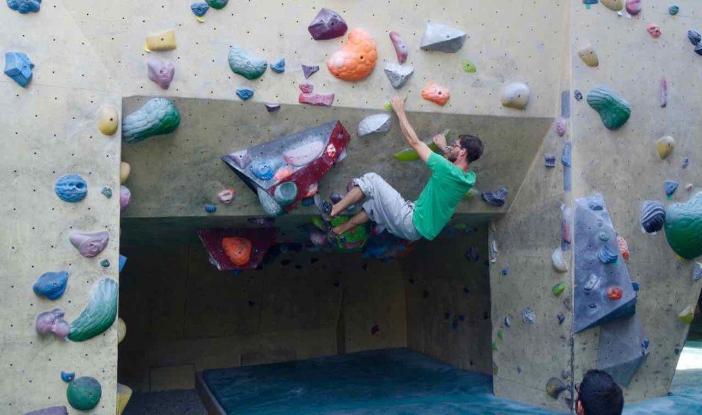 RAW-Gelände, Kletterhalle + Bouldern
