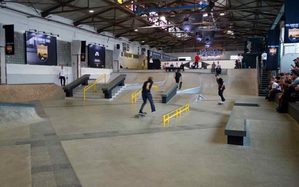 RAW-Gelände, Skaterhalle