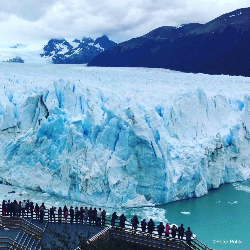 Argentinien, Perito Moreno Gletscher © Peter Pohle, iPod-Foto