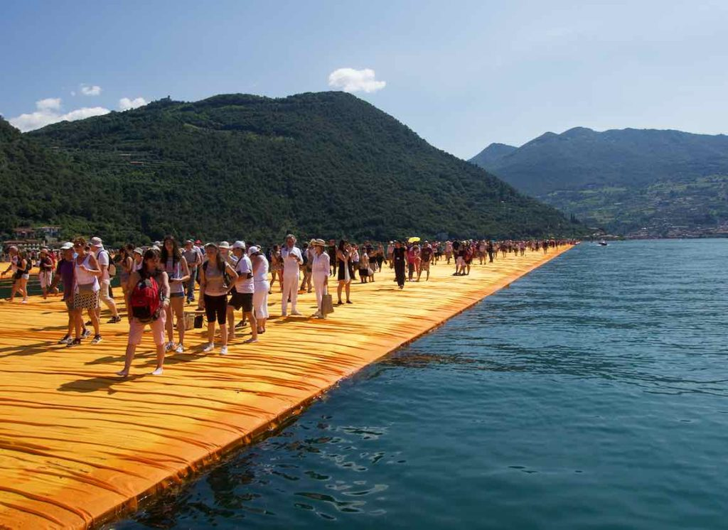 Christo Floating Piers, Lago d'Iseo @PetersTravel