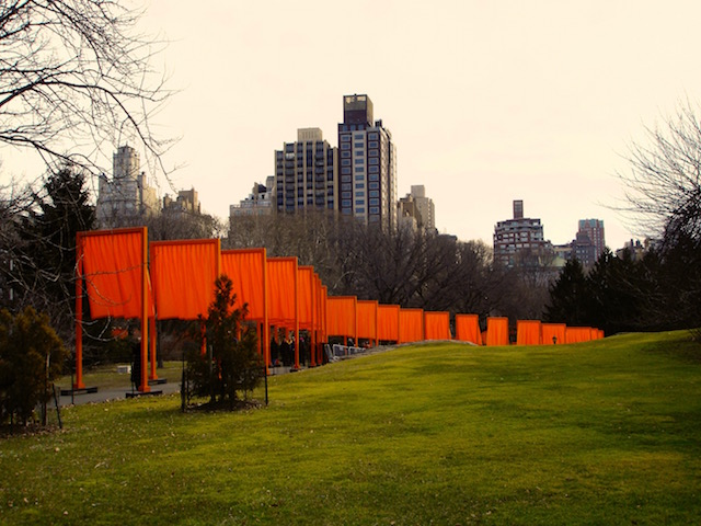 Christo, The Gates im Central Park, 2005