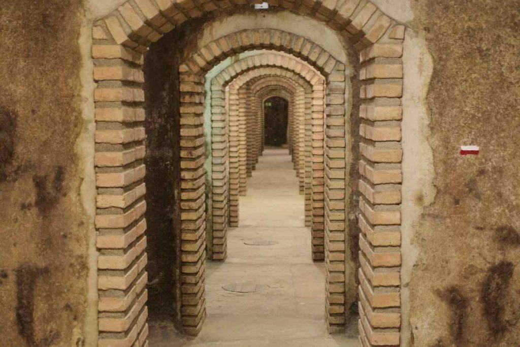 Olivenölverkostung im Priorat, Kellergewölbe vom Celler El Masroig ©PetersTravel