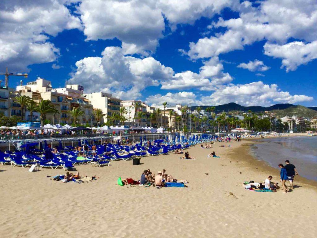 Sitges Strand 2, Katalonien