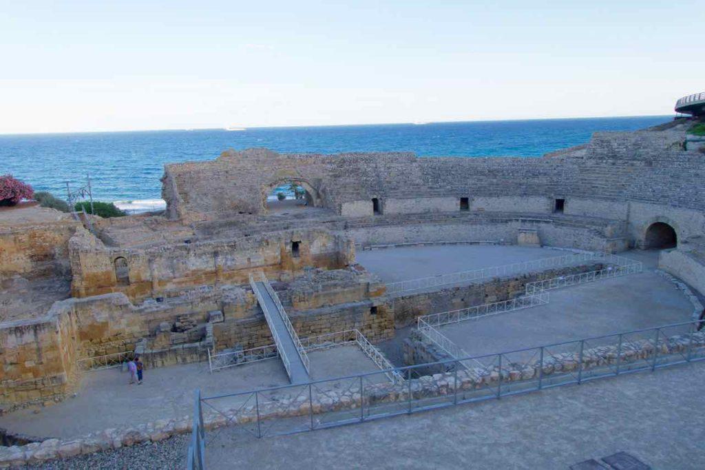 Tarragona Amphitheater, Katalonien