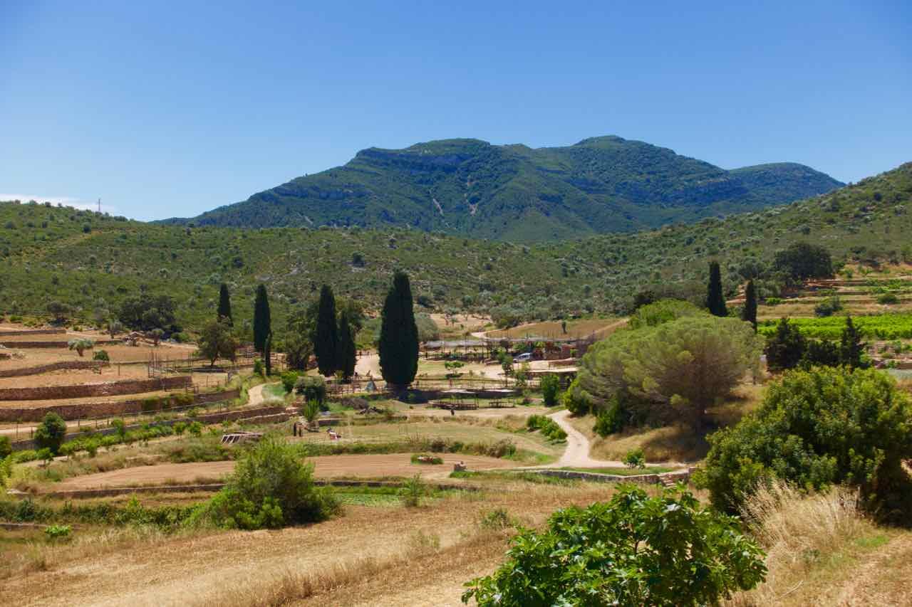 Temps de Terra Katalonien, Spanien, Landschaft a a Toscana