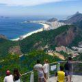 Zuckerhut Rio de Janeiro: Blick vom Gipfel Richtung Copacabana ©PetersTravel Titel?