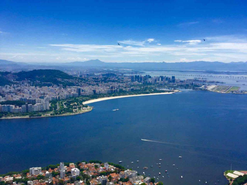 Zuckerhut Rio de Janeiro: Guanabarabucht ©PetersTravel