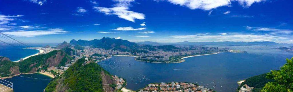 Zuckerhut Rio de Janeiro Pao de Acucar, Brasilien, iPod-Foto, Panorama ©PetersTravel