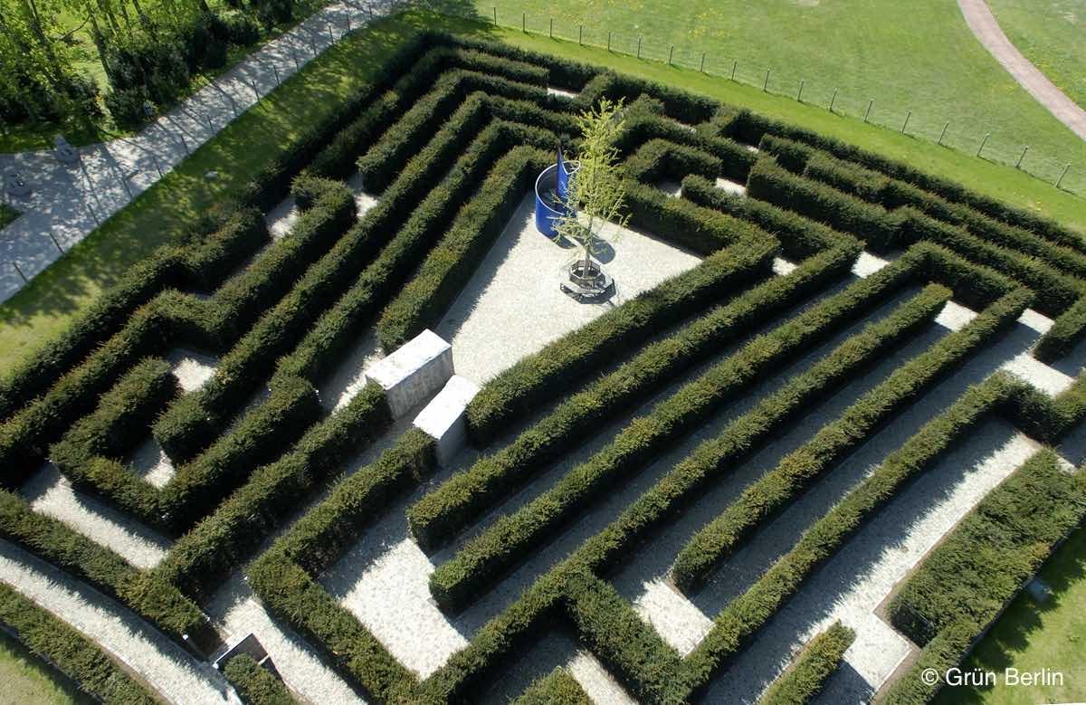 Gärten der Welt, Hecken-Irrgarten © Grün Berlin