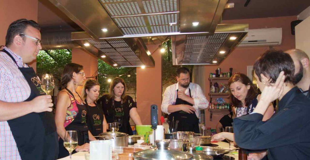Kochkurs Barcelona: Kochschule Espai Boisà, Einführung
