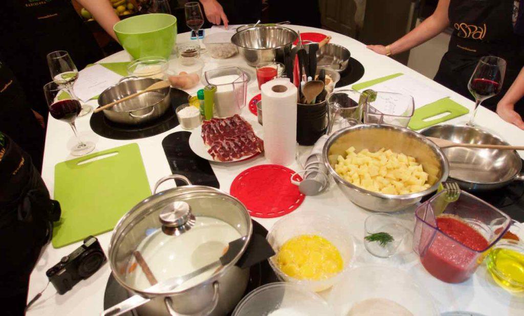 Kochkurs Barcelona: Kochschule Espai Boisà, Zutaten
