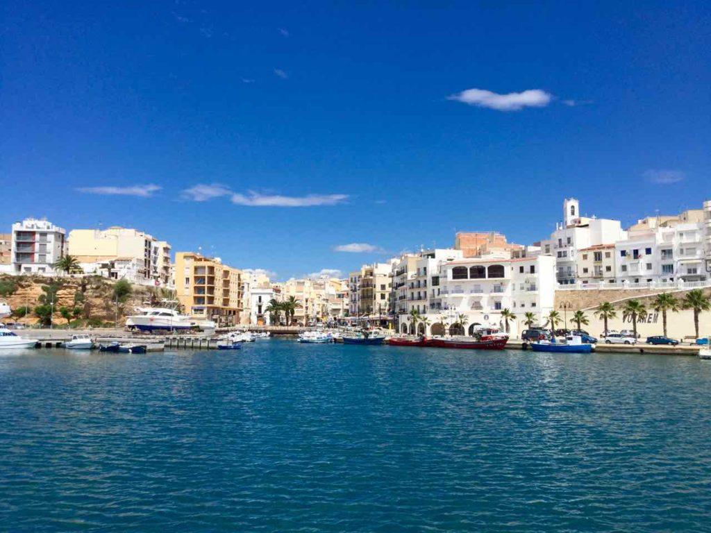 Rückkehr nach L'Ametlla de Mar, Katalonien