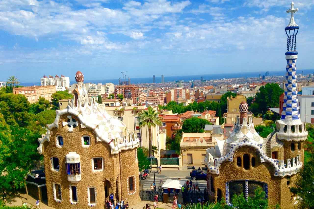 Park Guell In Barcelona Highlight Von Antoni Gaudi