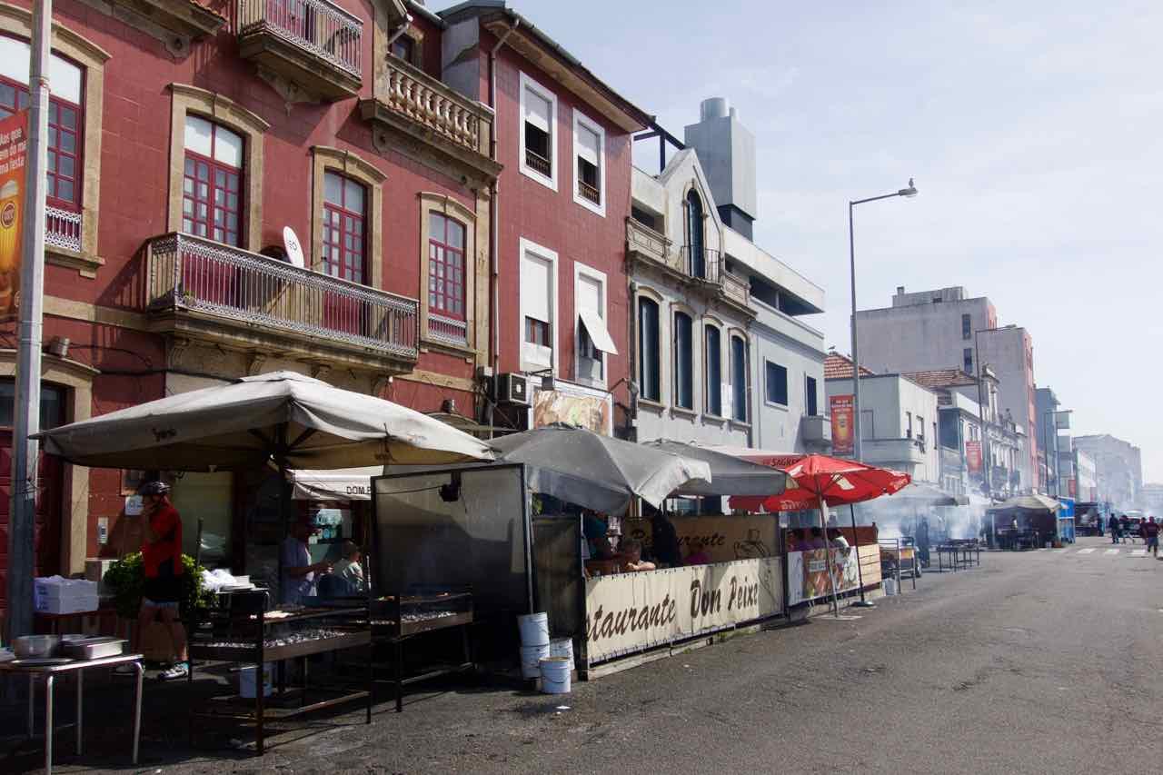 Porto, Matosinhos, Rua Herois de Franca - Straße der Sardinen Portugal @ PetersTravel