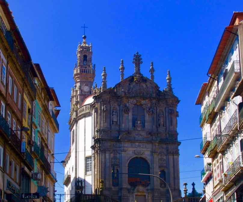 Porto Aussichtspunkte, Igreja dos Clérigos mit Torre dos Clérigos, © PetersTravel