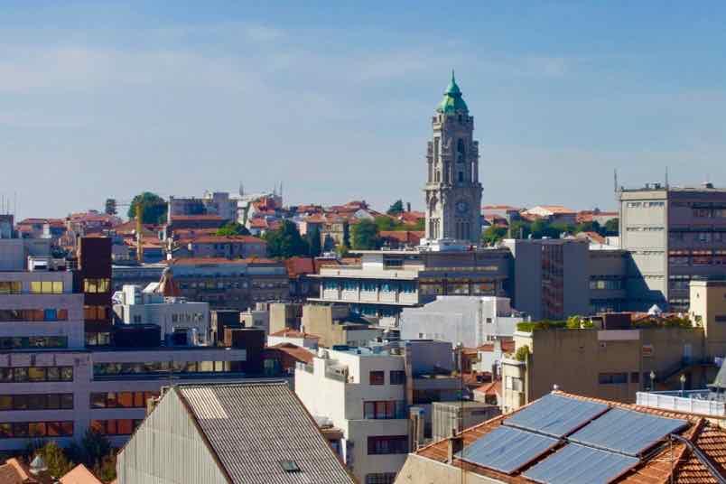 Porto Coliseum Hotel, Blick von der Dachterrasse ©PetersTravel