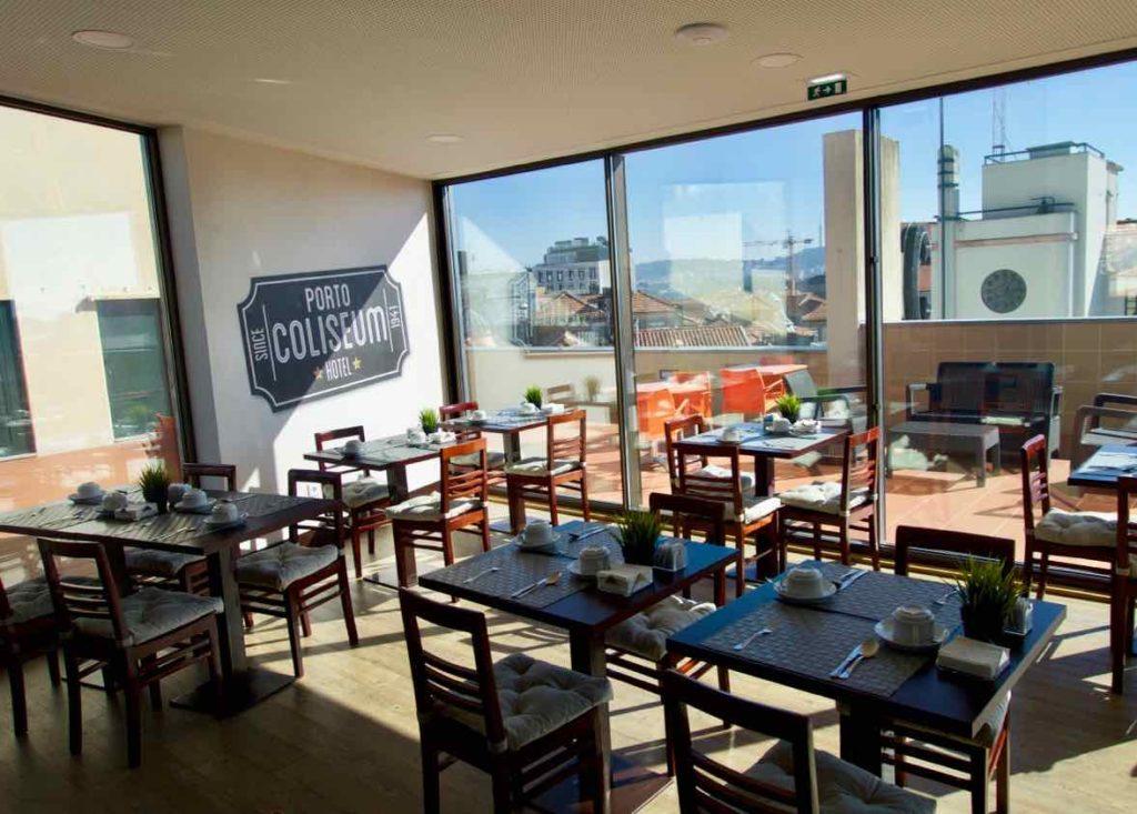 Porto Coliseum Hotel, Frühstücksraum ©PetersTravel