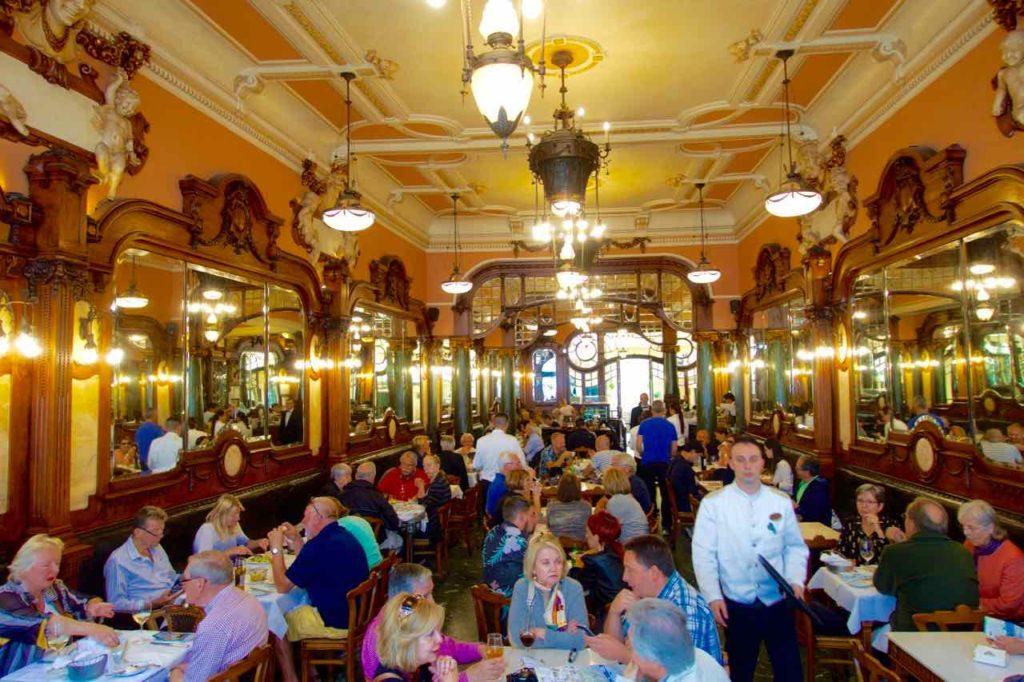 Porto Sehenswürdigkeiten Café Majestic © PetersTravel