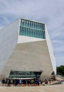 Porto Sehenswürdigkeiten: Casa da Música 1 hochkant ©PetersTravel