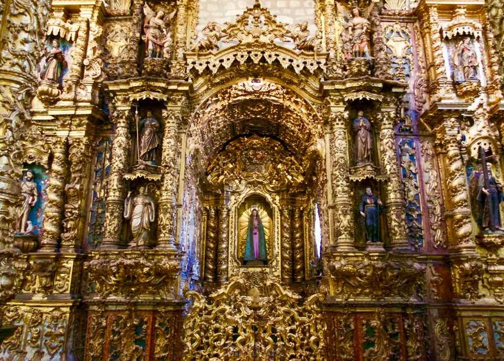 Porto Sehenswürdigkeiten - Igreja de São Francisco innen 1 © PetersTravel