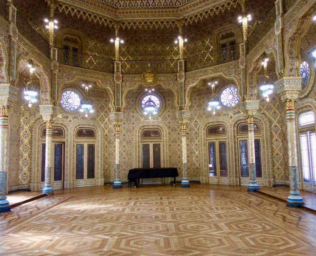 Porto Sehenswürdigkeiten: Palacio da Bolsa Salão Árabe ©PetersTravel
