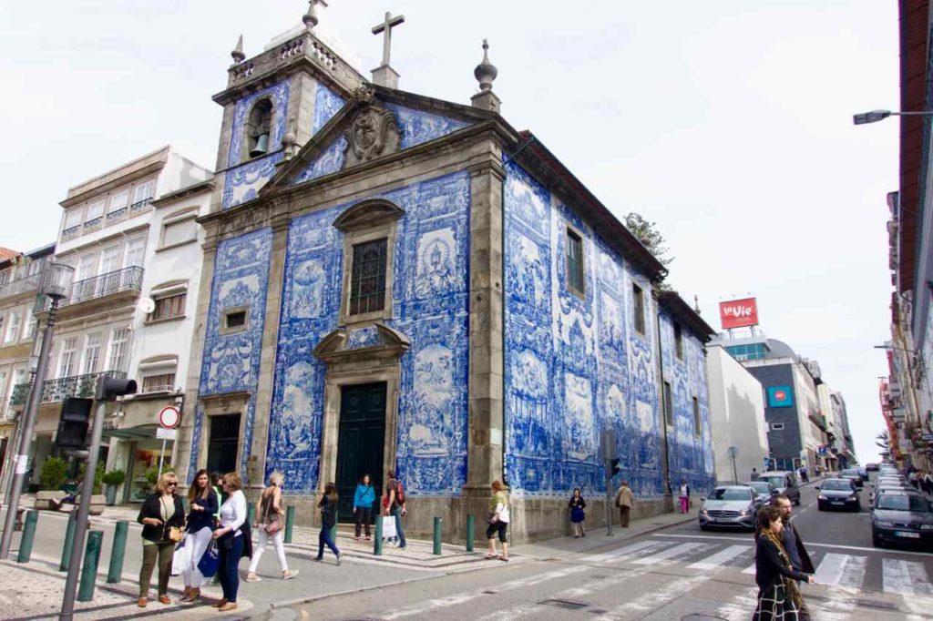 Porto Sehenswürdigkeiten, Rua Catarina, Capela das Almas ©PetersTravel