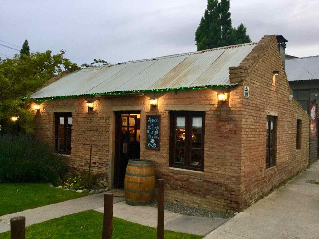 El Calafate Patagonien, Argentinien Restaurant Mi Rancho