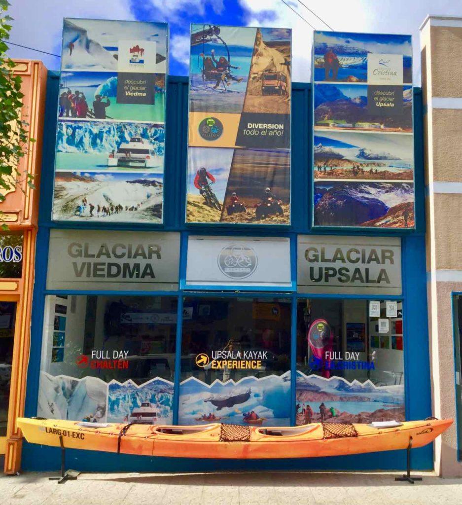 El Calafate Patagonien, Tourveranstalter