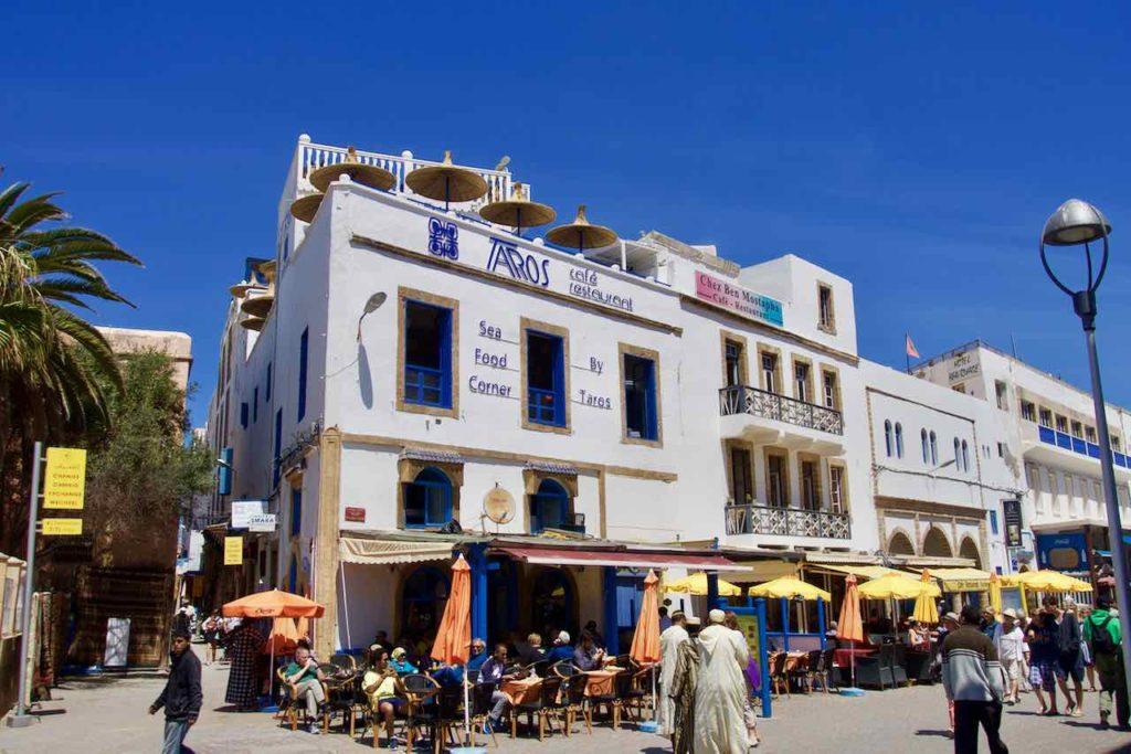Essaouira, Café Restaurant Taros, Marokko ©PetersTravel