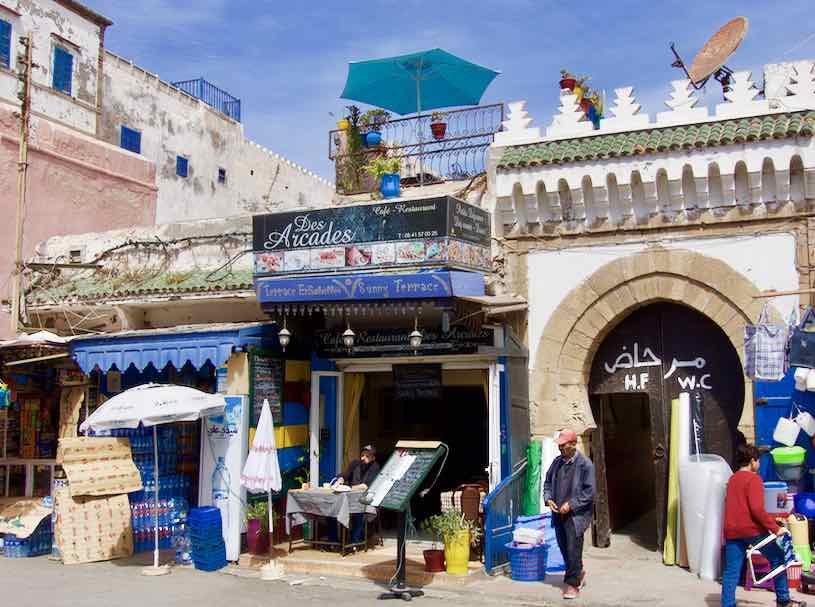 Essaouira, Café des Arcades ©PetersTravel