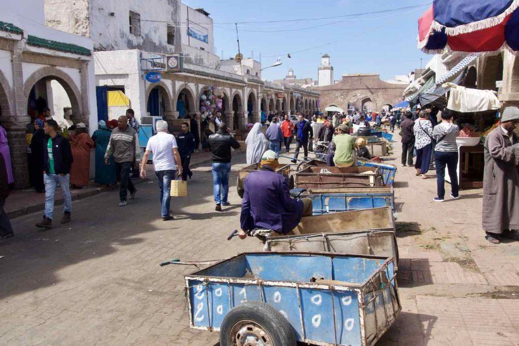 Essaouira, Haupteinkaufstraße in der Medina ©PetersTravel