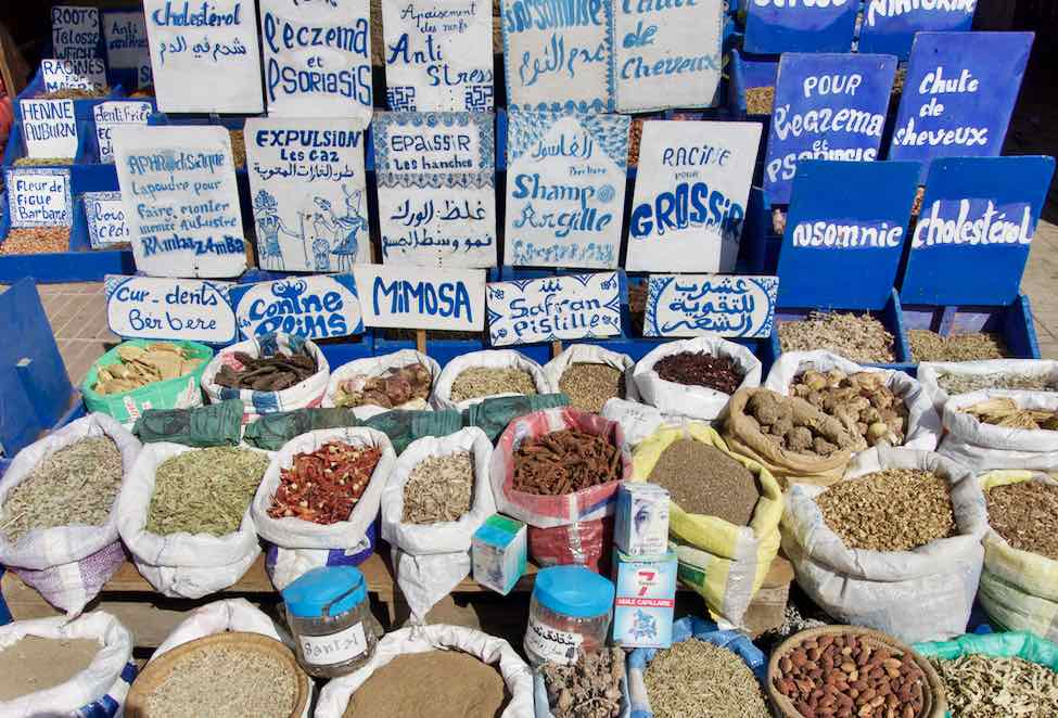 Essaouira, Kräuter ©PetersTravel