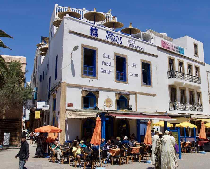 Essaouira Tipps - Die schönsten Restaurants & Riads Café-Restaurant Taros