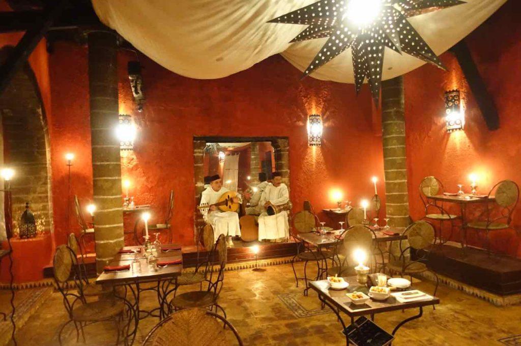 Essaouira Tipps - Die schönsten Restaurants & Riads Restaurant Le Patio ©PetersTravel