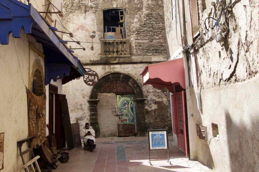 Essaouira Tipps: Gasse in der Medina