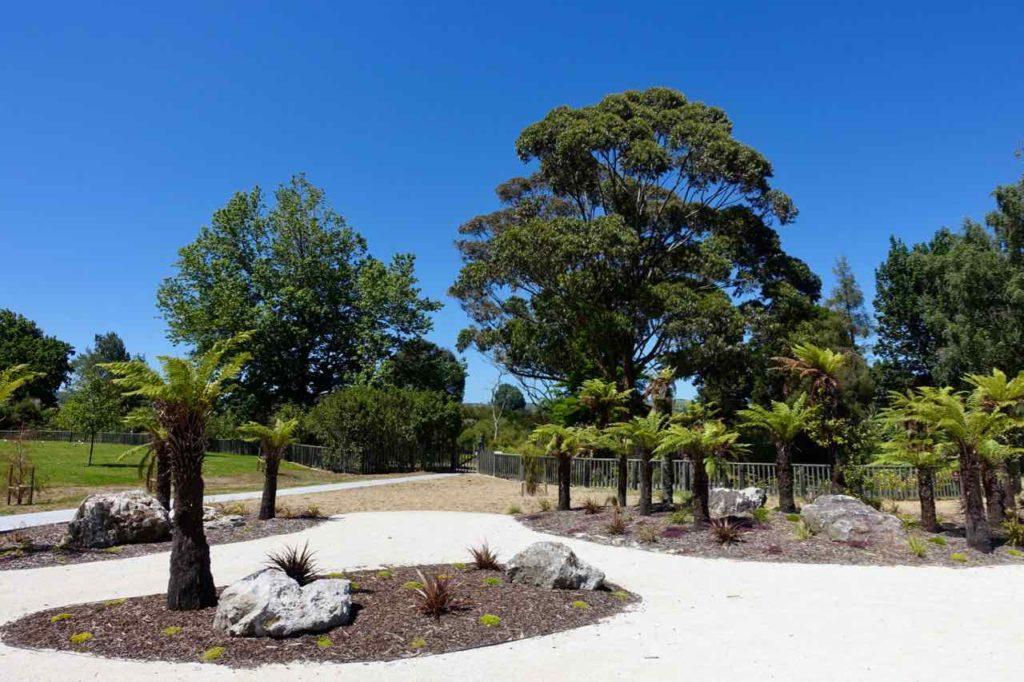 Rotorua Sehenswürdigkeiten, Stadtpark Neuseeland, ©PetersTravel