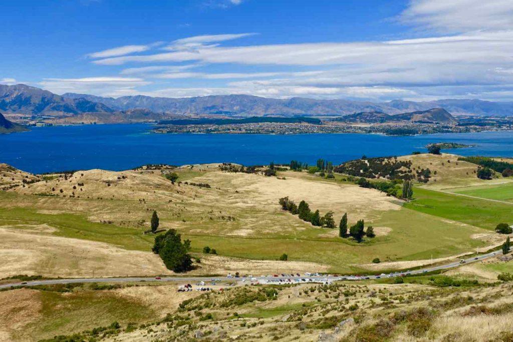 Mount Roy in Wanaka: Der Parkplatz wird kleiner... Neuseeland ©www.PetersTravel.de