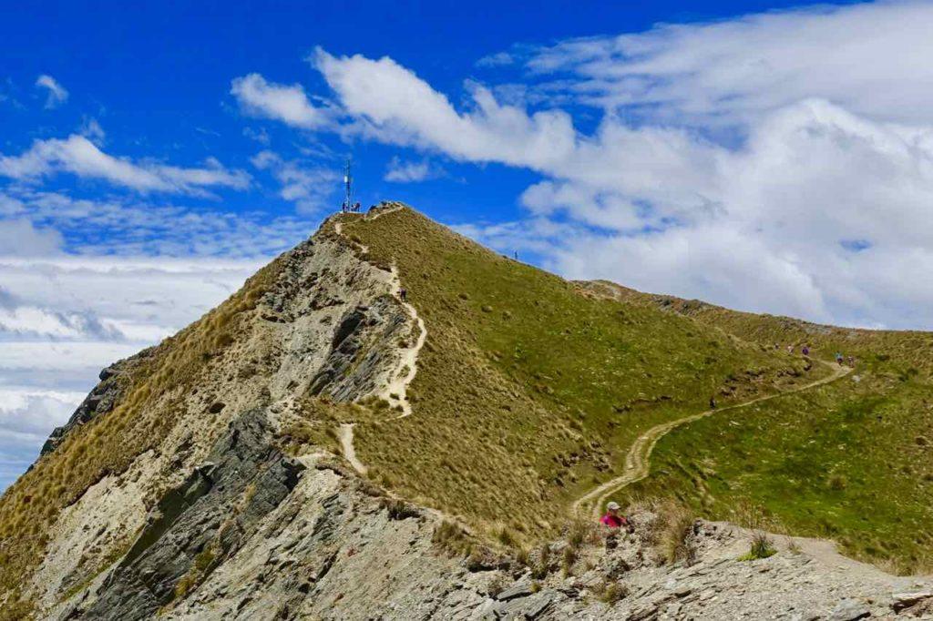 Mount Roy in Wanaka, Die letzte Gabelung, Neuseeland ©www.PetersTravel.de