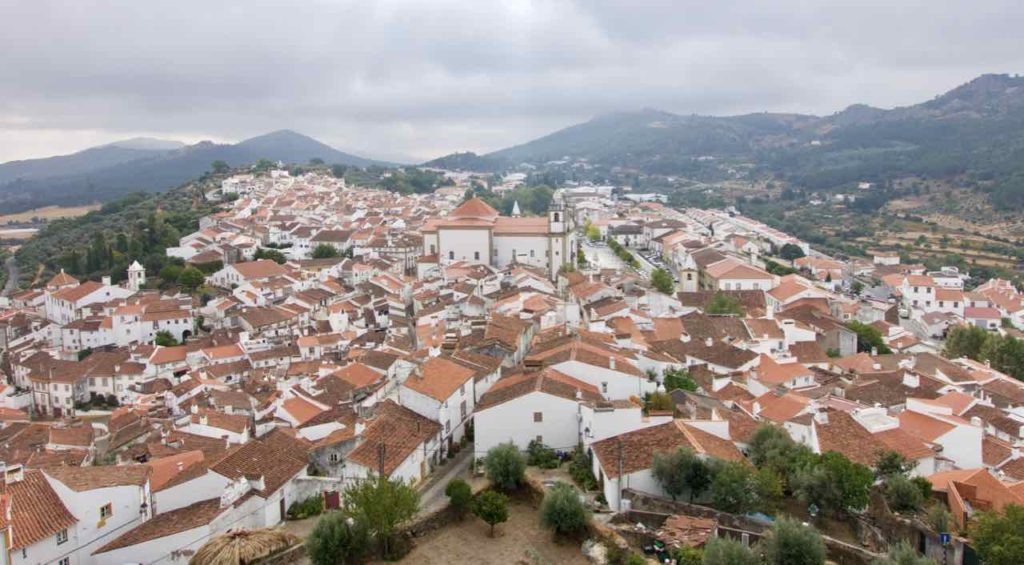 Alentejo Portugal: Castelo de Vide, Blick von der Festung, ©PetersTravel