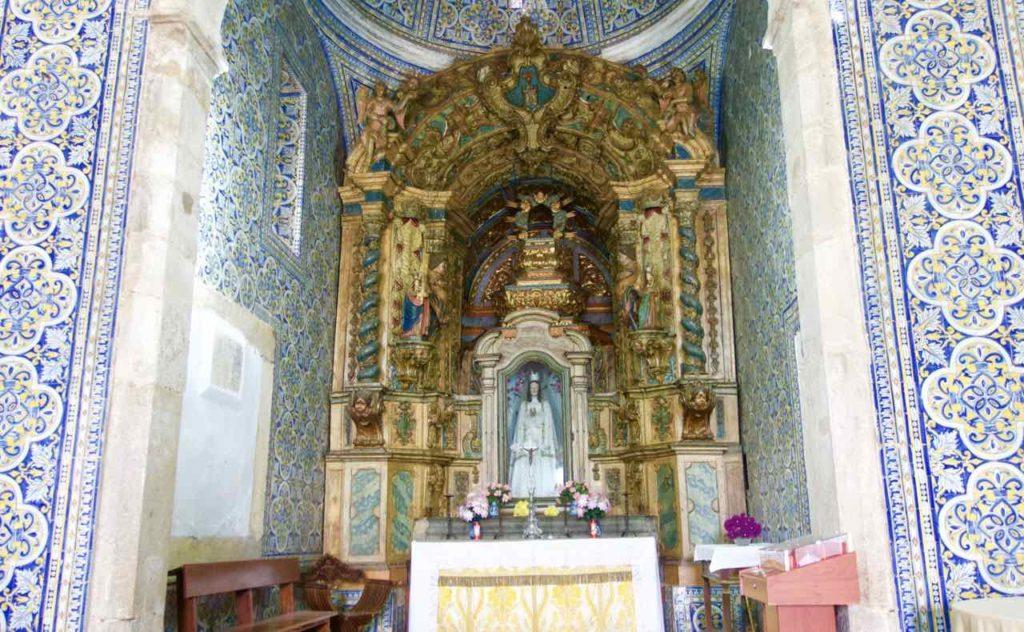 Alentejo, Portugal: Castelo de Vide, Kirche Nossa Senhora da Alegria, ©PetersTravel