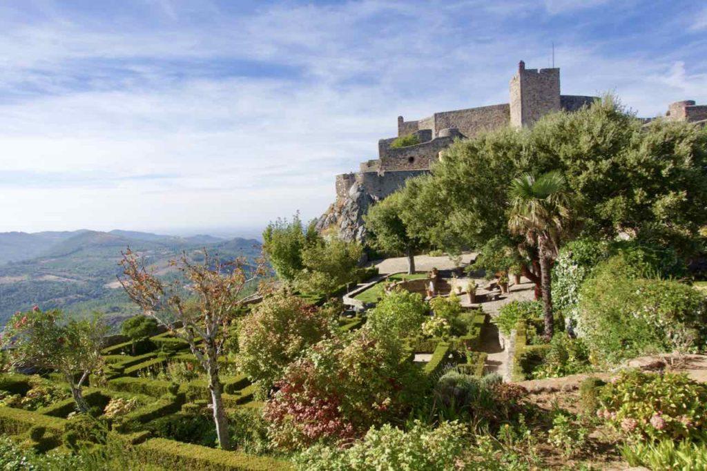 Alentejo, Portugal Marvão, Festung mit Garten, ©PetersTravel