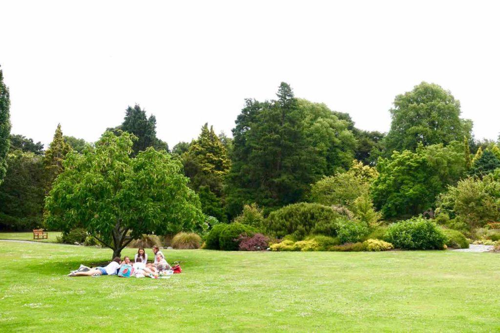 Christchurch Sehenswürdigkeiten Tipps: Botanischer Garten Neuseeland @PetersTravel