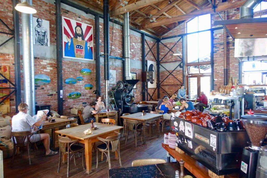 Christchurch Sehenswürdigkeiten Tipps: Café Bundy in Lyttleton Neuseeland @PetersTravel